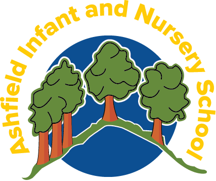 Ashfield infant and nursey school logo